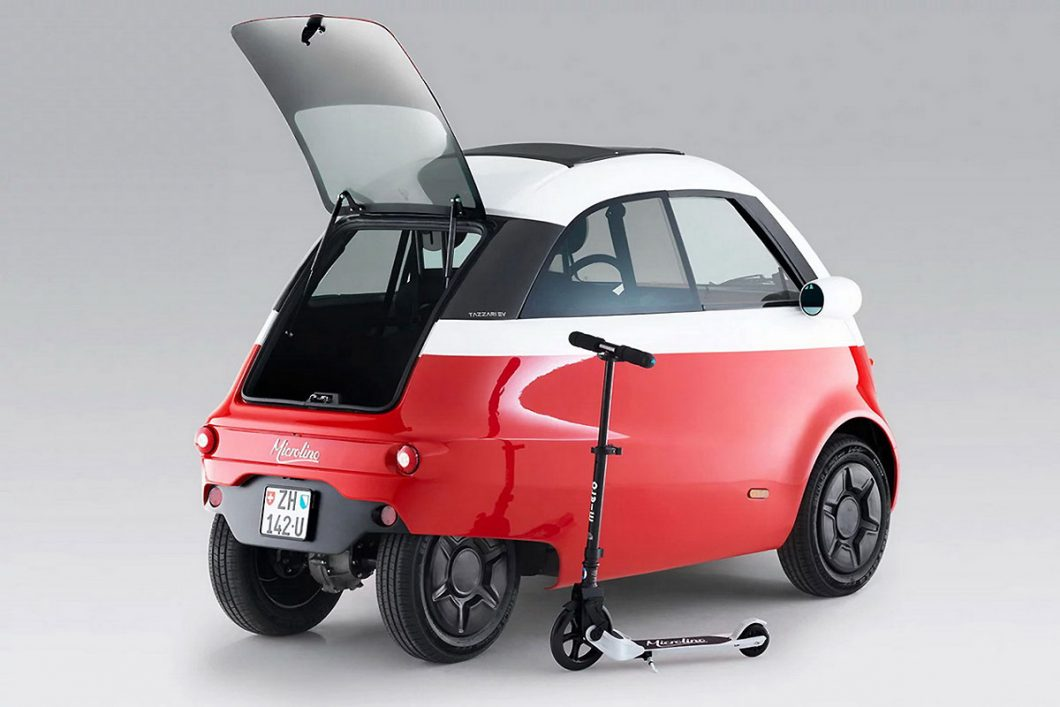 The modern version of the BMW Isetta to hit the market